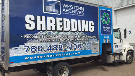 edmonton mobile shredding company